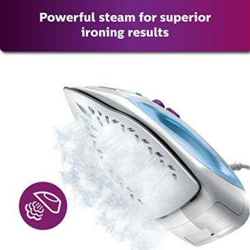 Philips GC1905 1440-Watt Steam Iron with Spray (Blue) 4