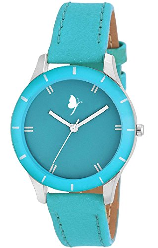Women's Watches ( Frida Colors Analog Blue Dail Women Watch ( FR-Colors-141407 ) )