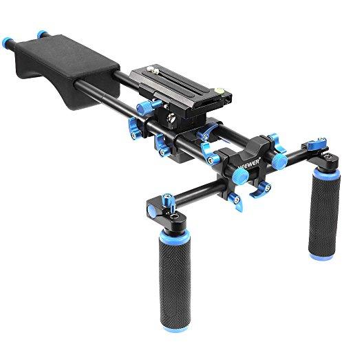 Neewer Film Maker Sistema Rig Portatile per Montaggio Fotocamera / Videocamera, Pad in Morbida Gomma...