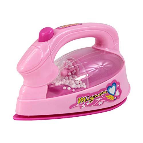 Toyvian Mini Giocattolo del Ferro Elettrico Kids Pretend Gioca Toy Home Appliances Toy per Le...