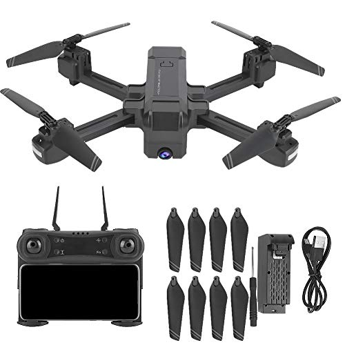 VGEBY1 Quadricottero RC, Drone Pieghevole RC con modalità Headless con elica di Ricambio per RC Drone(4k)