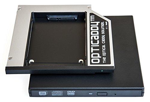 Opticaddy SATA-3 HDD/SSD Caddy Adattatore SET + USB custodia esterna per unità ottica per Lenovo...
