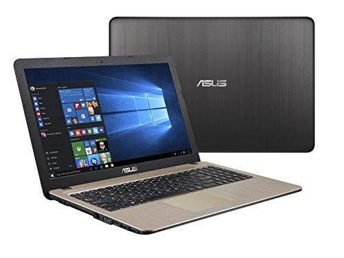 Asus X540NA-GQ017T Notebook, Display da 15.6', Processore Celeron N3350, 1.1 GHz, HDD da 500 GB, 4...