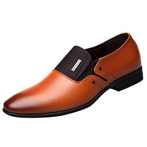 ┃BYEEEt┃ Scarpe di Cuoio - Uomo Eleganti Scarpe in Pelle per Business Ricreazione Uniforme...