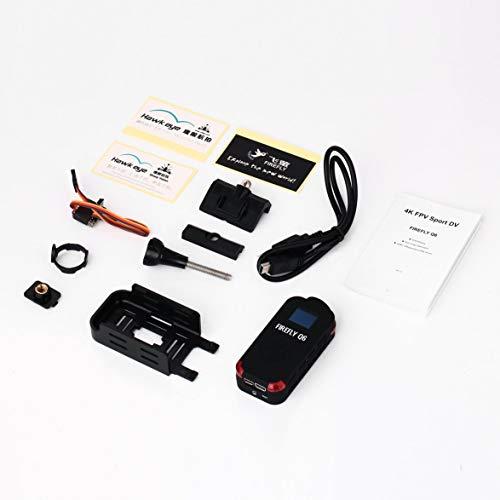 Kongqiabona Hawkeye Firefly Q6 4K HD FPV Videocamera Aerea grandangolare 120 per ZMR250 QAV250...