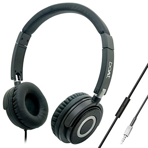 Boat BassHeads 900 Wired Headphone with Mic