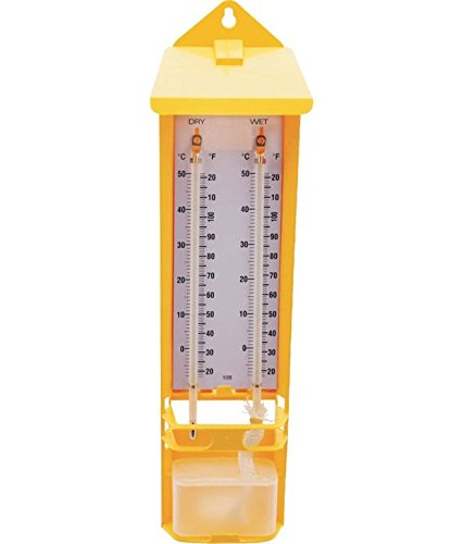 SSU Yellow Wet And Dry Bulb Hygrometer, Cm