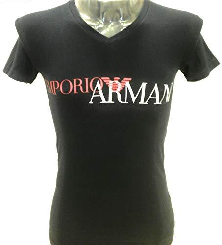 Emporio-Armani-Camiseta-para-Hombre-Azul-Oscuro-L