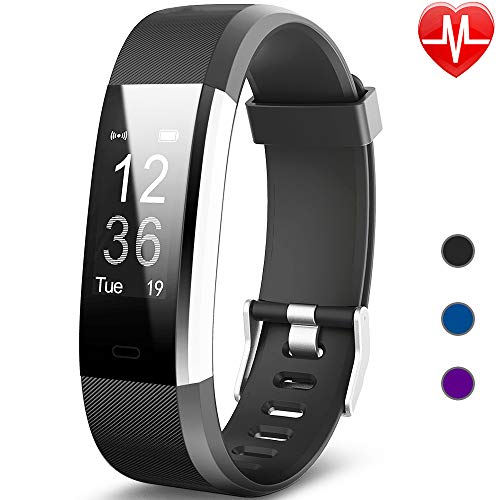 Montre Connectée, Willful Bracelet Connectée Fitness Tracker d'Activité Cardiofréquencemètre Etanche IP67 Smartwatch Cardio Podomètre Sport ... 5