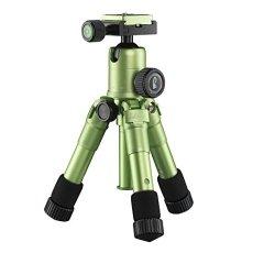 Mantona 21186 Digitales / cámaras de película 3leg(s) Verde tripode - Trípode (Digitales / cámaras de película, 5 kg, 3 pata(s), 49,5 cm, Verde, Sistema de bloqueo por giro Twist Lock o Sistema de cierre tipo rosca Twist Lock)
