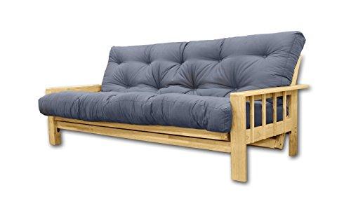 Divani letto Bifold, futon Gray , 207x100x30 cm