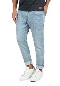Blend-Taifun-Herren-Jeans-Hose-Denim-Aus-Stretch-Material-Slim-Fit-GreW3034-FarbeDenim-Lightblue-76200