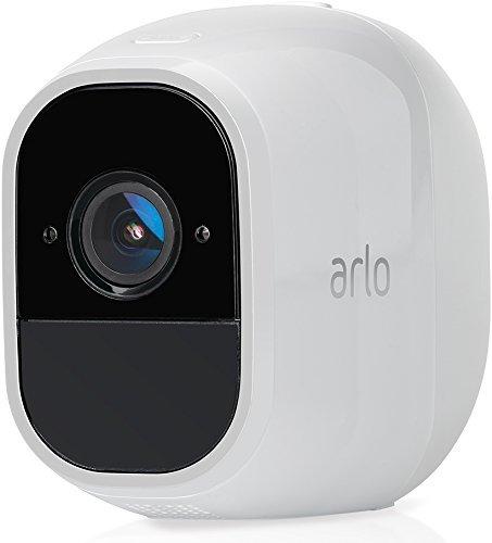Arlo VMC4030P Telecamera Aggiuntiva per Sistema di Videosorveglianza Wi-Fi senza Fili con Audio 2 Vie, Batteria, Full Hd, Visione Notturna, Interno/Esterno, Vcr Opz, Funziona con Alexa e Google Wi-Fi