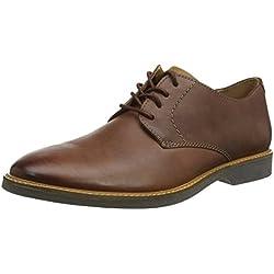 Clarks Atticus Lace, Derbys Homme, Marron (Mahogany Leather), 42.5 EU