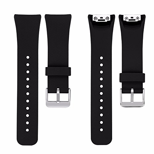 invella Replacement Strap for Samsung Gear Fit2 Pro/ Fit2 Band SM-R365 / SM-R360 Smartwatch (GF-BLST)