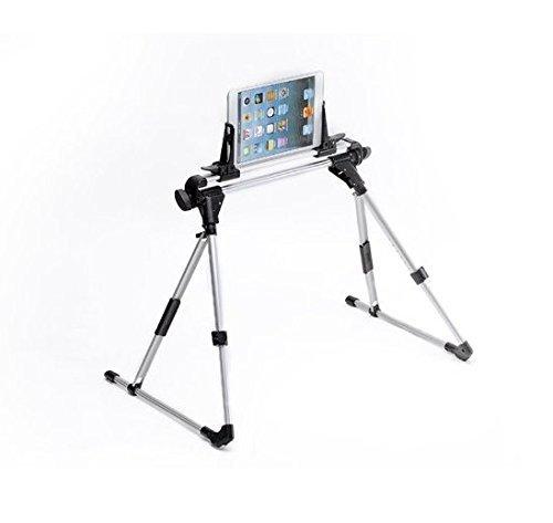 AFUNTA Tablet Mount Holder Floor Desk Sofa Bed Stand Adjustable Portable Foldable for Tablet iPad 2 3 4 5 Samsung Iphone6/6 plus ,Lazy Man Lazy beside Bed, Car, Bedroom, Kitchen, Office, Bathroom