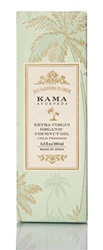 Kama Ayurveda Extra Virgin Organic Coconut Oil, 200ml 10