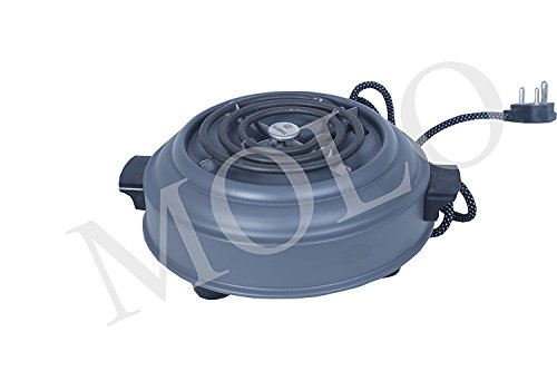 MOLO Electric hot plate 1000 Watts -Grey G-coil