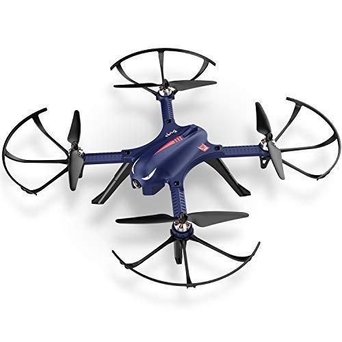 DROCON – Drone Blue Bugs 3 Potente per Esterni con Motore senza Spazzole, Quadrirotore a Lunga...