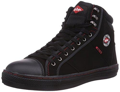 Lee Cooper Workwear Unisex-Erwachsene Sicherheitsschuhe, schwarz,...