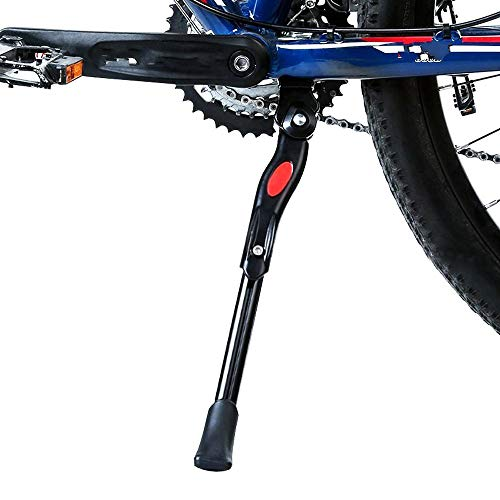 """Schrodinger15 70049 Bicycle Cycle Kick Stand Center Side Stand 24"""" to 26"""" Adjustable for All"""