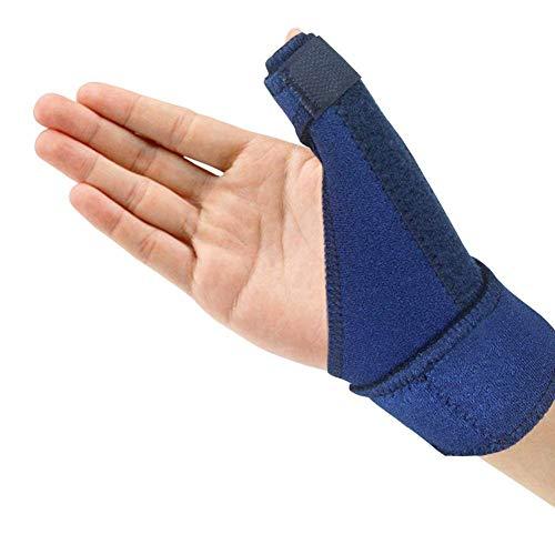 Libershine Flexible Daumenbandage Für Links & Rechts, Daumenschiene Schützt Sattelgelenk & Daumengrundgelenk, Daumenorthese Für Verletzungen & Sehnenscheidenentzündung, Daumenschutz
