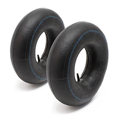 2x cámara aire rueda segadora jardín cortacésped podadora 13x5.00-8 válvula recta