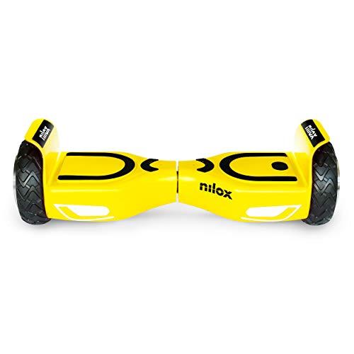 Nilox Doc 2 Hoverboard, Unisex Adulto, Giallo, Taglia Unica
