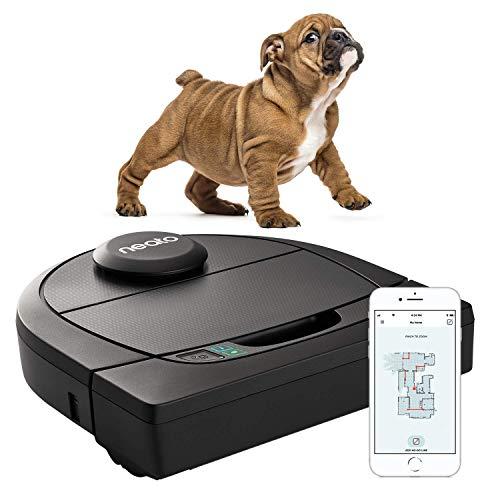 Neato Robotics D450 Premium Pet Edition - Compatibile con Alexa - Robot aspirapolvere con stazione...