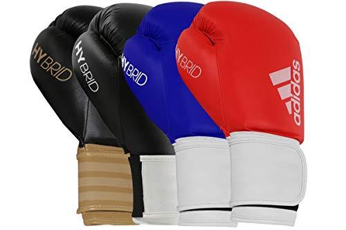 adidas Hybrid 100, Guanti da Boxe Unisex, Red, 8 oz (236 ml)