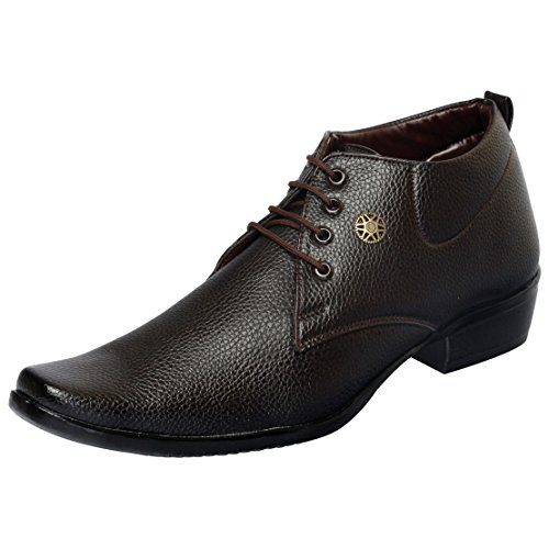 FAUSTO 1616-42 Brown Men's Formal Lace-ups