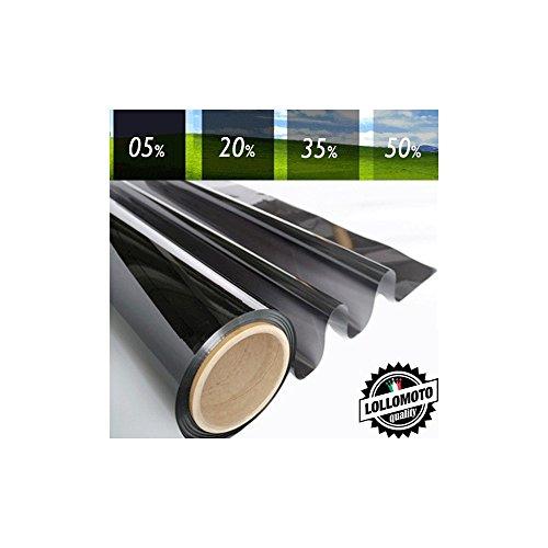 20% Pellicola Oscuramento Vetri Auto Professionale Rotolo Pellicola Vetri Tint - Altezza Rotolo 50cm