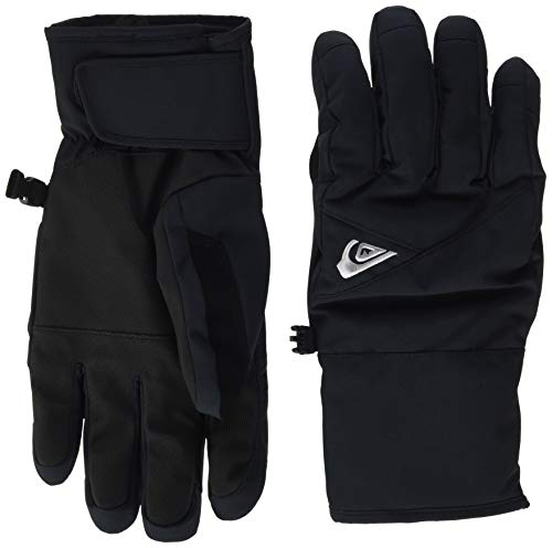 Quiksilver Cross, Gloves Uomo, Black, S