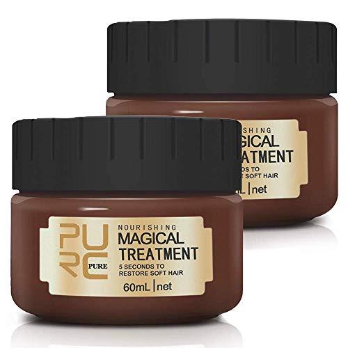 Magical Treatment Haarmaske, Advanced Molecular Hair Roots Treatment, Professionelle Intensive Repair-Maske für trockenes und strapaziertes und gefärbtes Haar.