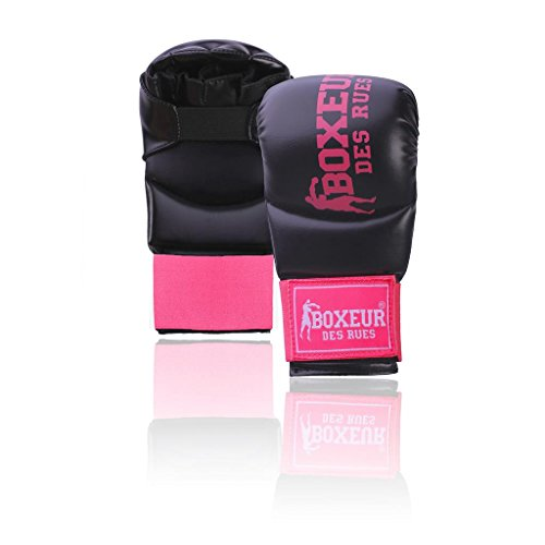 Boxeur Des Rues Serie Fight Activewear Guanti Da Karate E Fit-boxing, Unisex – Adulto, Fuxia, M