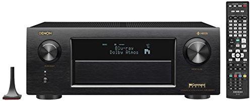 Denon AVR-x6400H HEOS 11.2 Network, Multi Room Audio Technology, Dolby Atmos, Bluetooth-WiFi In-Command 4K Ultar HD AV Receiver
