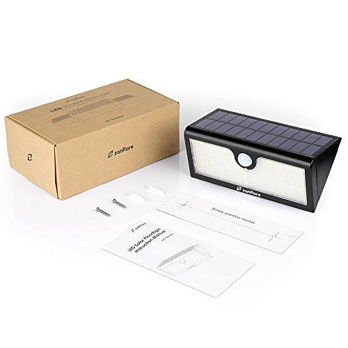 LED Lumière Solaire Extérieure [1000LM, 5200mAh, Etanche,71 LED ...