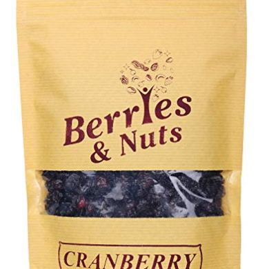 Berries And Nuts Dried Cranberries | Naturally Sweet, Dehydrated Fruit | 500 Grams 16
