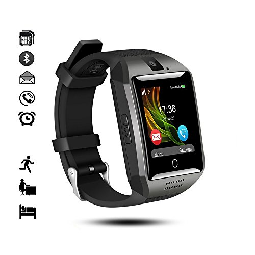 Bluetooth Smart Watch,gearlifee Android IOS Smartwatch Curved-Screen Orologio per uomo,con...