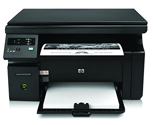 HP LaserJet M1136 Pro Multifuction Monochrome Printer - Black