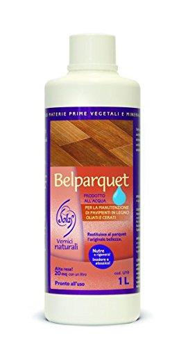 Belparquet ad acqua. Olio da mantenimento per superfici trattate ad olio o cera (1 litro)