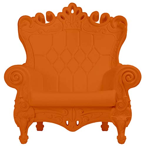 Design of Love - Slide Design - Queen of Love Poltrona Arancio zucca