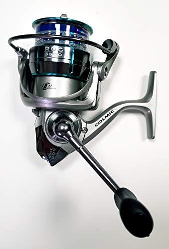Colmic Mulinello ROG 3500 Pesca Bolognese, Inglese, Spinning e Trota con 8+1 Cuscinetti a Sfera