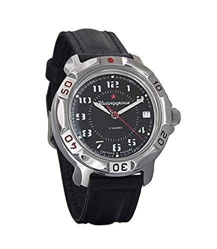 Vostok komandirskie Russo militare meccanico orologio da polso movimento 2414 #431186