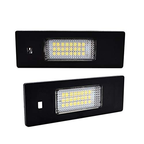 LncBoc LED Luci targa per auto Lampada targa 3W 12V 24SMD con CanBus nessun errore 6000K Xeno Bianco...