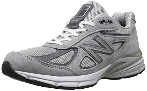 New Balance Herren 990v4, Grey/Castle Rock 45 EU M