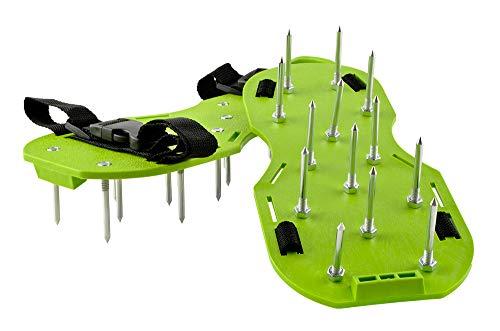 Iso Trade Zapatos de aireador de césped - los Zapatos con Clavos para el césped #4220