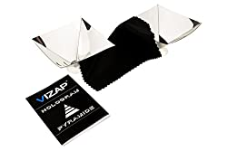 Kaufen Vizap 2er-Set 3D Smartphone Hologramm Folie/Projektor Pyramide mit einzigartigen 3D Effekten inkl. kostenlosem Reinigungstuch