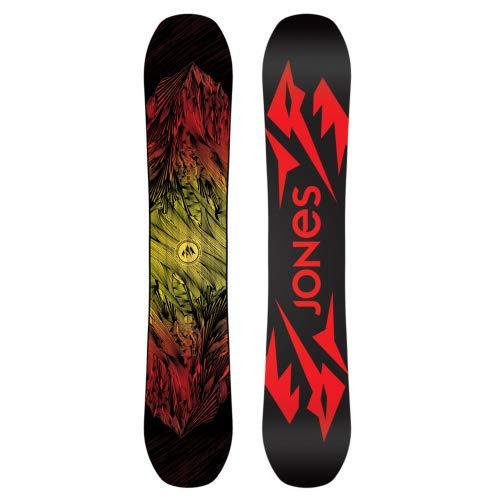 Jones Snowboards Mountain Twin - Snowboard, One Color, 158cm Wide