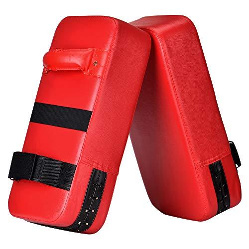 Wuudi PU Saco De Boxeo 40cm*20cm*10cm Almohadilla De Choque Cojín Kick Para Boxeo Taekwondo Karate Judo Jiu-jitsu Brasileño UFC MMA Entrenamiento Boxing Tailandés Jeet Kune Do
